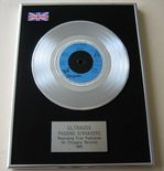 ULTRAVOX - PASSING STRANGERS PLATINUM single presentation DISC